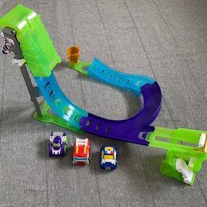 Transformers Rescue Bots Flip Racers Track